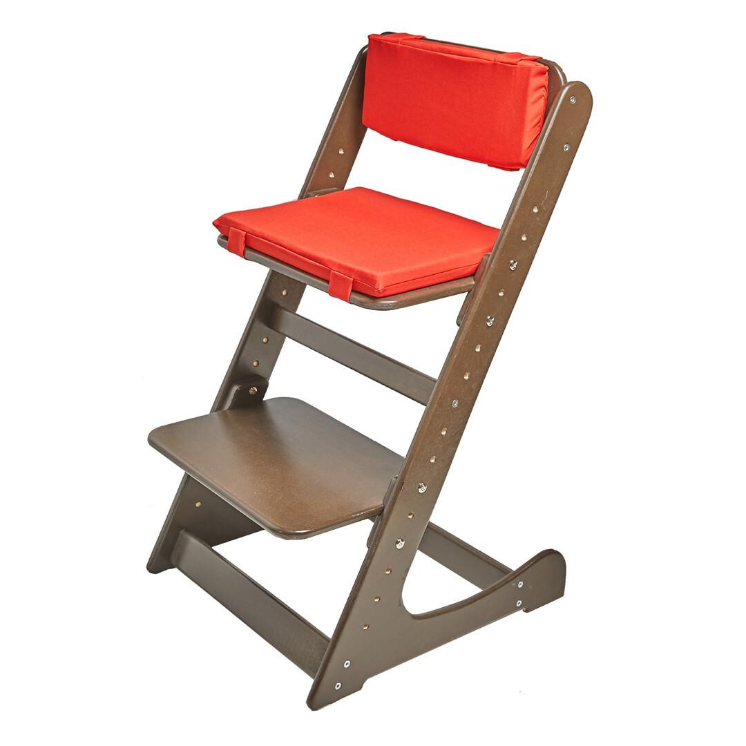 Комплект подушек на Растущий стул, красный