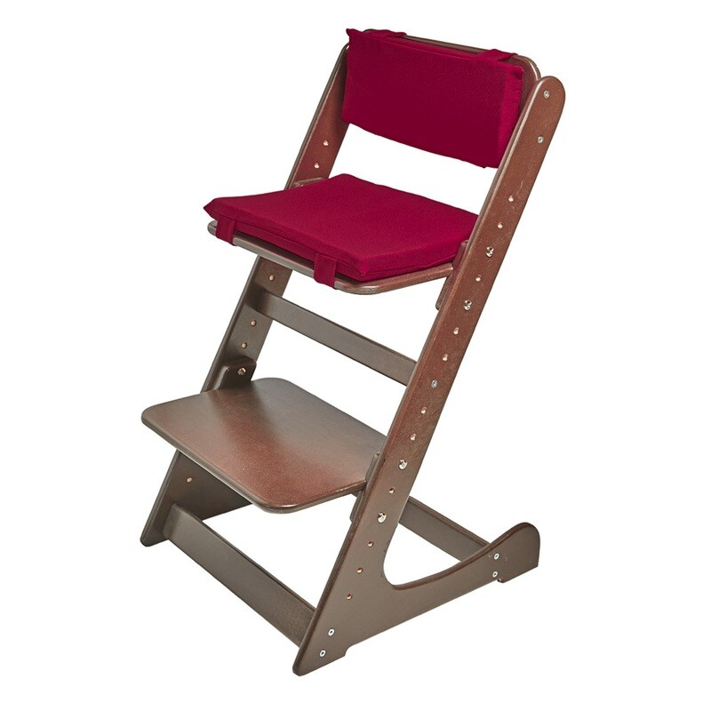 Комплект подушек на Растущий стул, бордо