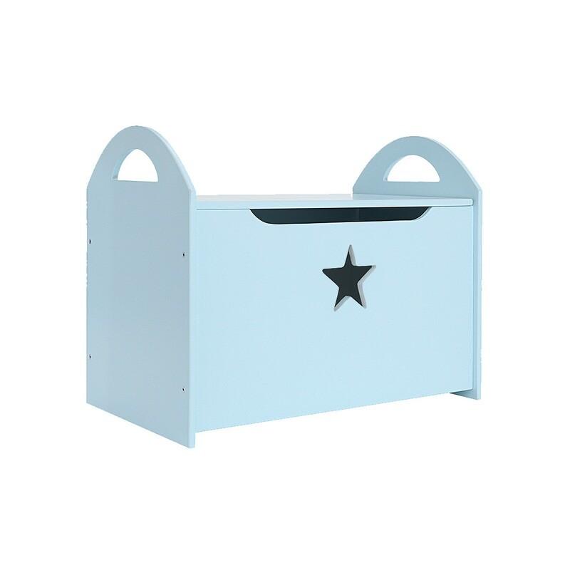 Детский сундук со звездочкой, голубой