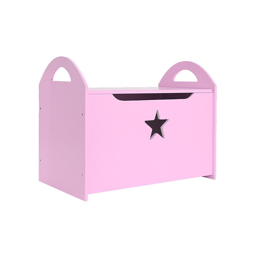 Детский сундук со звездочкой, фиолетовый