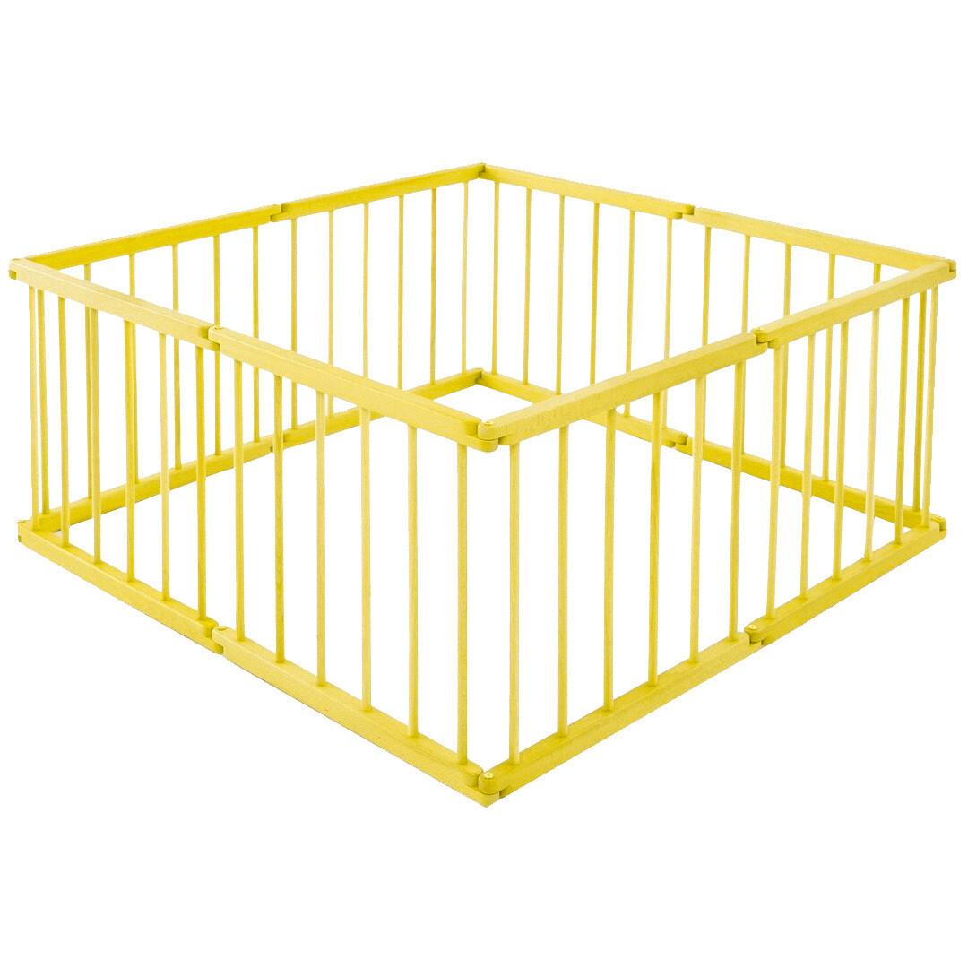 Игровой манеж-трансформер, 8 секций, желтый