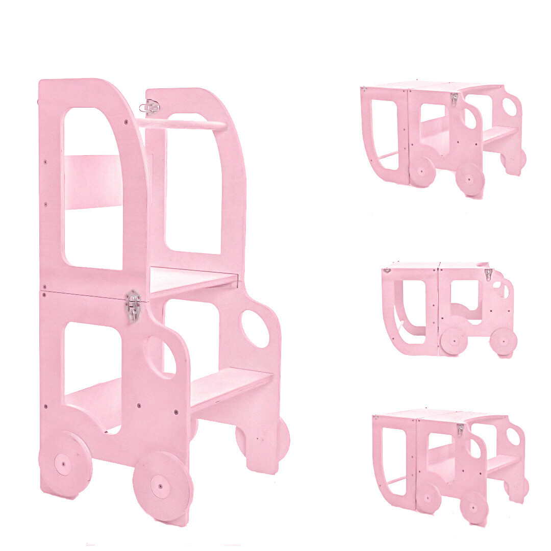 Башня помощника, розовый