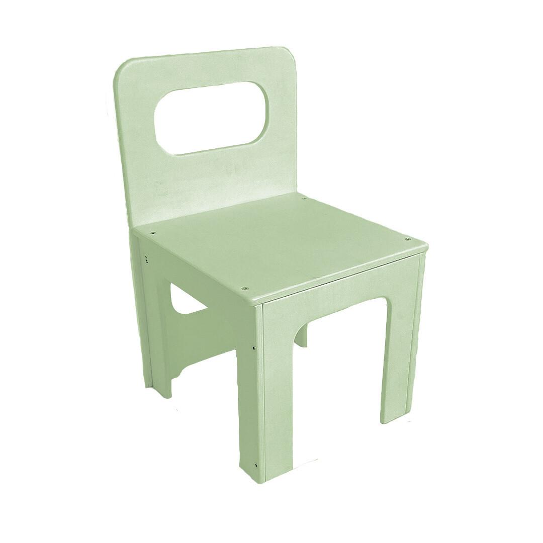 Детский стульчик, салатовый