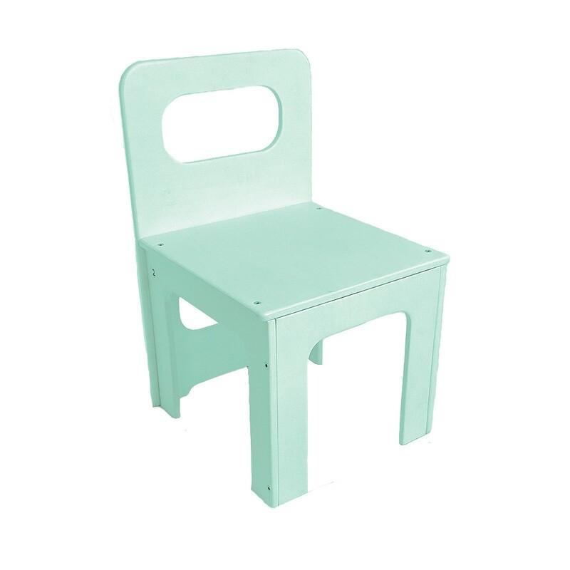 Детский стульчик, мятный