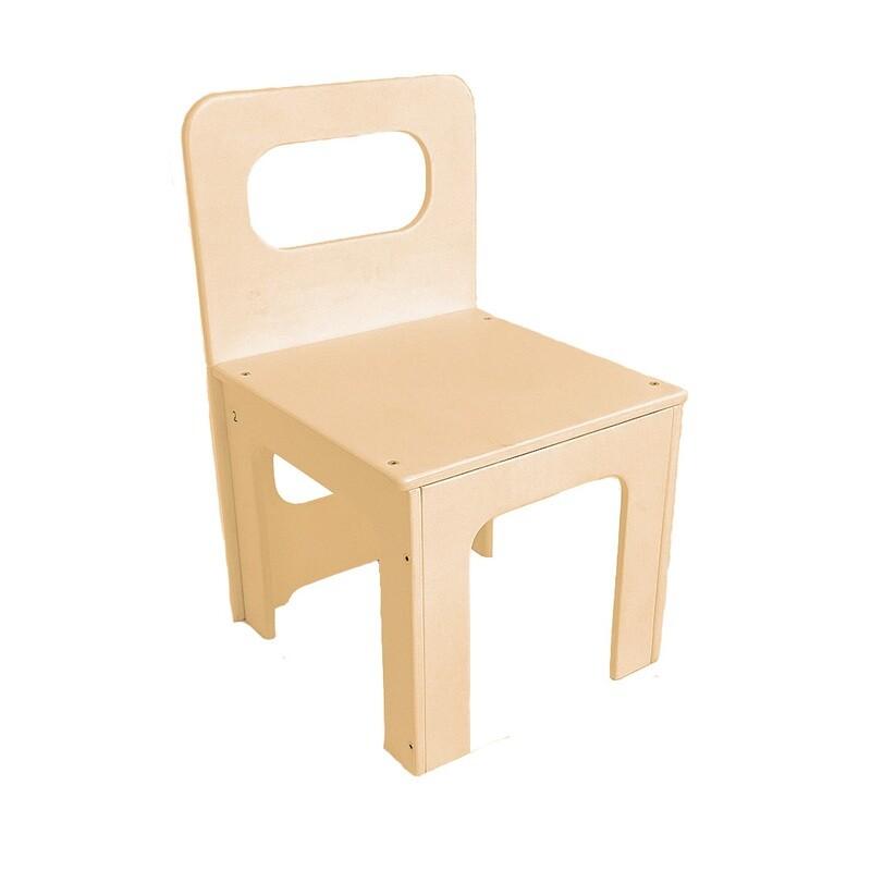 Детский стульчик, кремовый