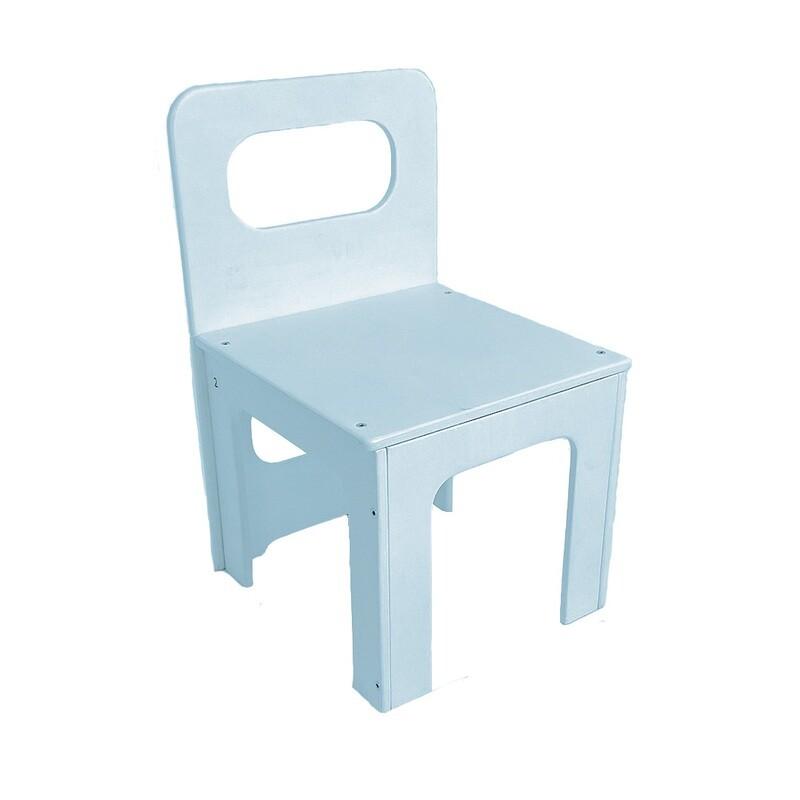 Детский стульчик, голубой