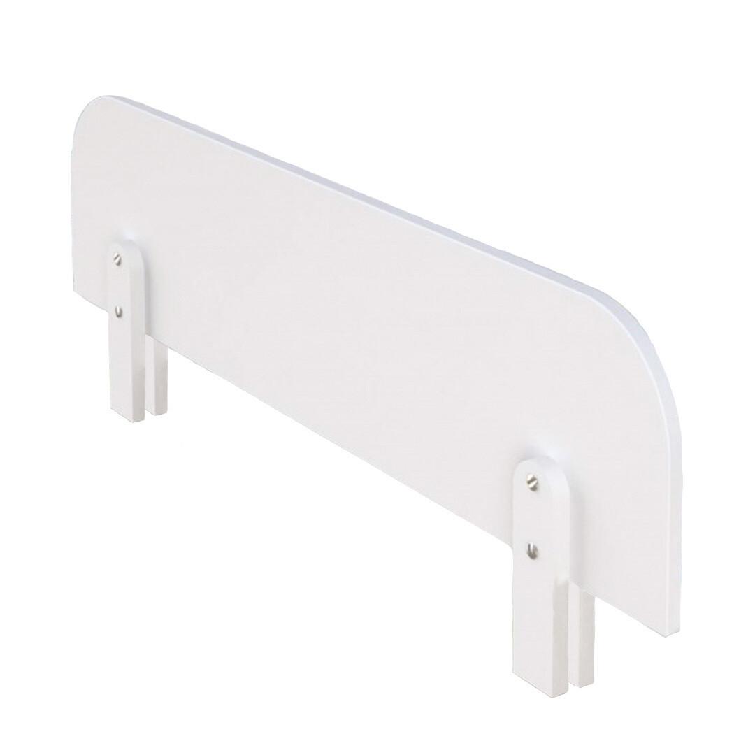 Защитный бортик для детской кровати, съемный, белый