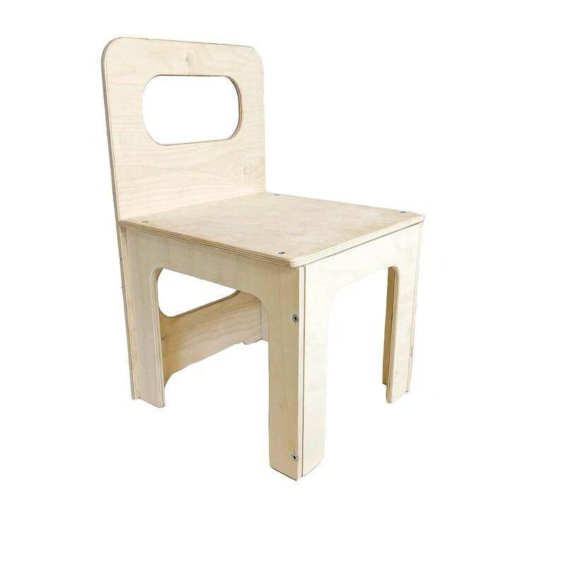Детский стульчик, шлифованный