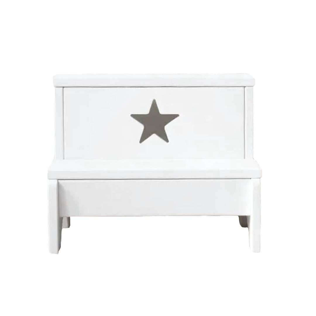 Ступенька, лесенка для детей, белая звезда