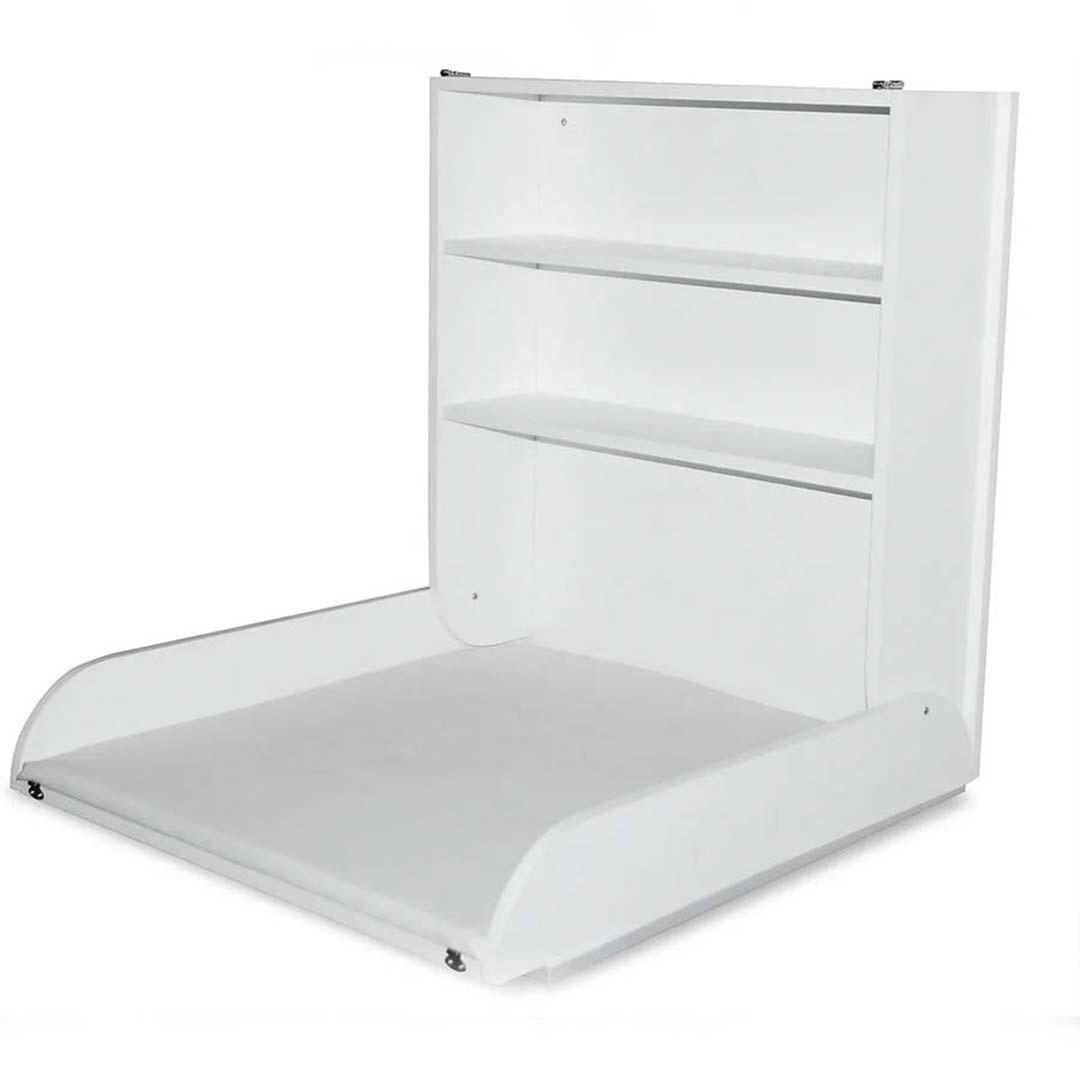 Подвесной пеленальный столик, белый