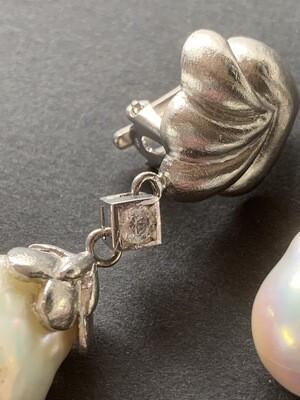 Orecchini con perle barocche