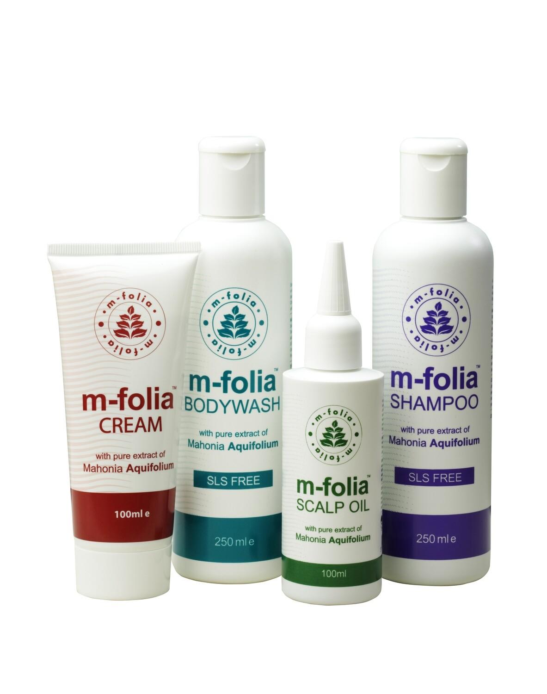 M-Folia Psoriasis Starter Set for Body & Scalp