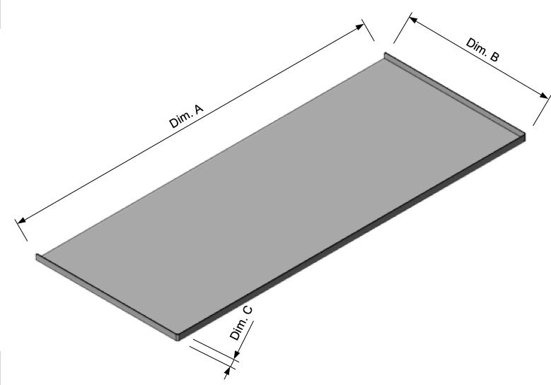 Stainless Shelf Liner