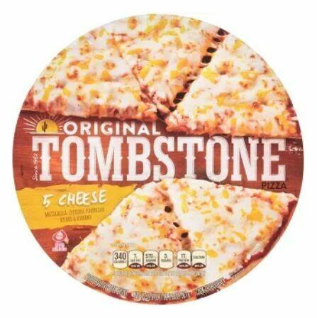 Frozen Pizza, Tombstone® 5 Cheese Pizza (19.3 oz Box)