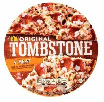 Frozen Pizza, Tombstone® 4 Meat Pizza (21.1 oz Box)