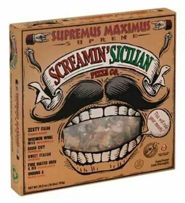 Frozen Pizza, Screamin' Sicilian® Supremus Maximus® Pizza (25 oz Box)
