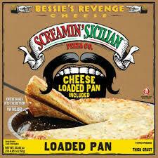 Frozen Pizza, Screamin' Sicilian® Loaded Pan, Bessie's Revenge® Pizza (20.85 oz Box)