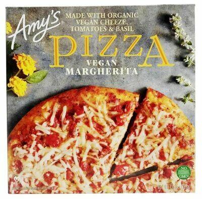 Organic Pizza, Amy's® Organic Vegan Margherita Pizza (13.5 oz Box)
