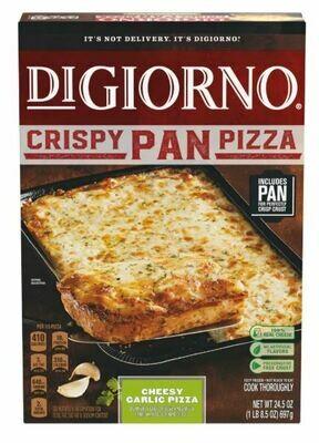 Frozen Pizza, Digiorno® Crispy Pan, Cheesy Garlic Pizza (24.5 oz Box)