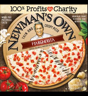 Frozen Pizza, Newman's Own® Thin Crust, Margherita Pizza (13.4 oz. Box)