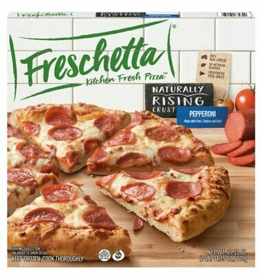 Frozen Pizza, Freschetta® Rising Crust, Pepperoni Pizza (27.35 oz Box)