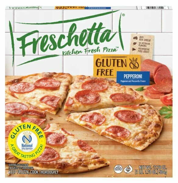 Frozen Pizza, Freschetta® Gluten Free, Four Cheese Pizza (17.5 oz Box)