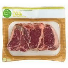 Lamb, Simple Truth™ Natural Sirloin Lamb Chops (16 oz Bag)