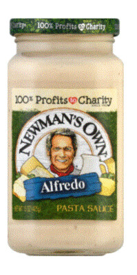 Alfredo Pasta Sauce, Newman's Own® Alfredo Sauce (15 oz Jar)