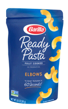 Pasta, Barilla® Ready Pasta® Elbows Pasta (8.5 oz Box)