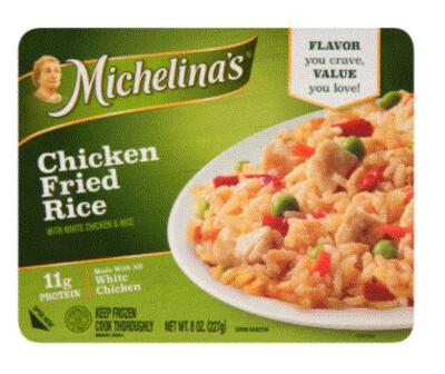 Frozen Dinner, Michelina's® Chicken Fried Rice (8 oz Box)