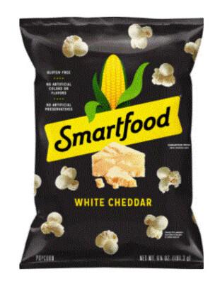 Popcorn, Smartfood® White Cheddar Popcorn (6.75 oz Bag)