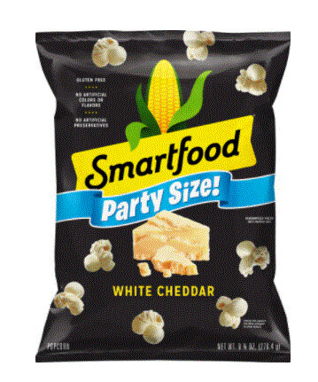 Popcorn, Smartfood® White Cheddar Popcorn (9.75 oz Bag-Party Size)