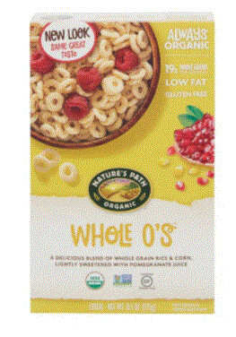 Cereal, Nature's Path® Organic Whole O's Cereal (11.5 oz Box)