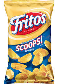 Corn Chips, Frito's® Scoops® Corn Chips ( 9.75 oz Bag)