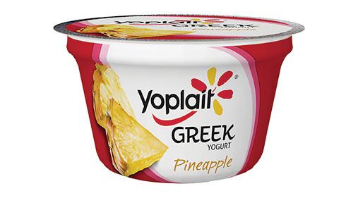 Yogurt, General Mills® Yoplait® Greek Yogurt, Pineapple