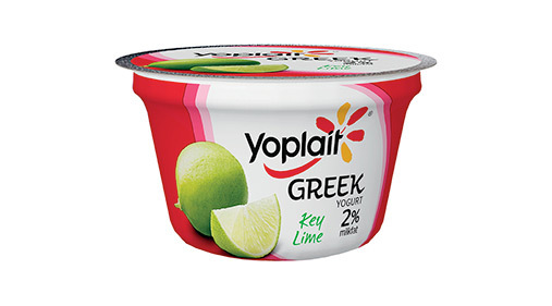 Yogurt, General Mills® Yoplait® Greek 2% Yogurt, Key Lime