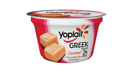 Yogurt, General Mills® Yoplait® Greek 2% Yogurt, Caramel