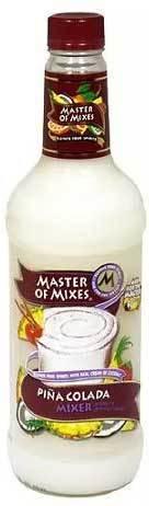Drink Mixer, Master Of Mixes® Piña Colada Mix (1.75 Liter Bottle)