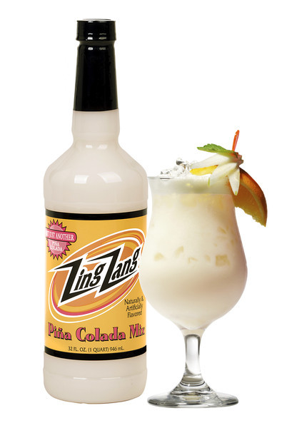 Drink Mixer, Zing Zang® Piña Colada Mix (32 oz Bottle)