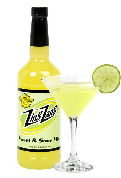 Drink Mixer, Zing Zang® Sweet & Sour Mix (32 oz Bottle)