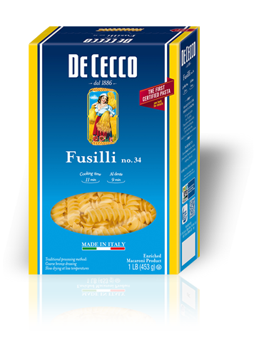 Pasta, De Cecco® Fusilli Pasta, 16 oz Box