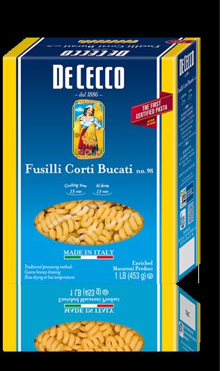 Pasta, De Cecco® Fusilli Corti Bucati Pasta, 16 oz Box
