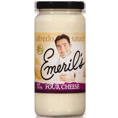 Alfredo Pasta Sauce, Emeril's® Four Cheese Alfredo Sauce (24 oz Jar)