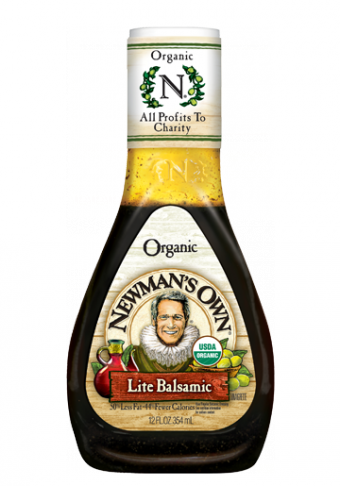 Salad Dressing, Newman's Own® Lite Balsamic Salad Dressing (16 oz Bottle)