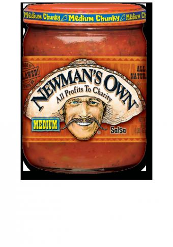 Salsa, Newman's Own® Medium Chunky Salsa (16 oz Jar)