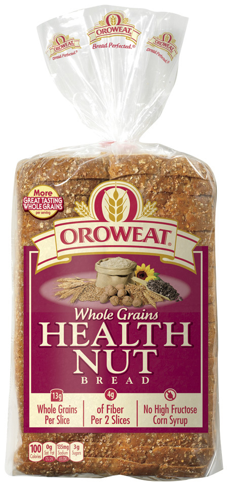 Loaf Bread, Oroweat® Health Nut® Bread (24 oz Bag)