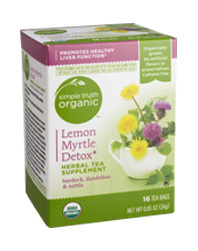 Tea, Simple Truth Organic™ Lemon Myrtle Detox Herbal Tea Supplement