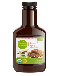 BBQ Sauce, Simple Truth™ Sweet & Spicy BBQ Sauce (19 oz Bottle)
