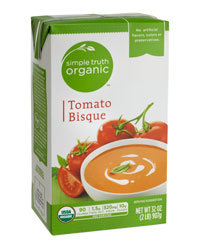 Boxed Organic Soup, Simple Truth Organic™ Tomato Bisque