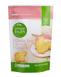 Animal Crackers, Simple Truth™ Gluten Free Animal Crackers (8 oz Bag)